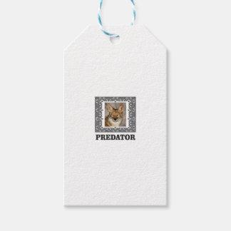 Etiqueta Para Presente Predador afiado
