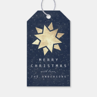 Etiqueta Para Presente Presente alegre do feriado ao marinho azul Gol da