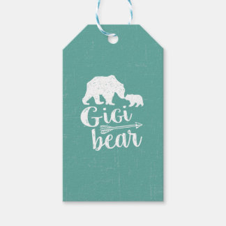Etiqueta Para Presente Presente bonito da avó do urso de Gigi grande