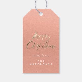 Etiqueta Para Presente Presente do Feliz Natal para script o pêssego de