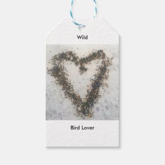Etiqueta Para Presente Presentes selvagens do amante do pássaro
