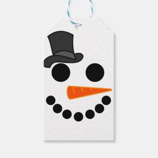 Etiqueta Para Presente Produtos do menino do boneco de neve