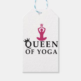 Etiqueta Para Presente rainha da coroa da ioga