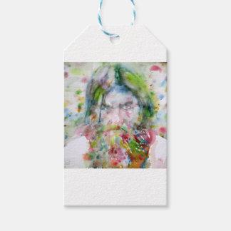 Etiqueta Para Presente RASPUTIN - aguarela portrait.3