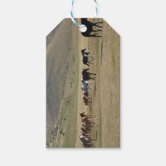 Etiqueta Para Presente Rebanho dos cavalos