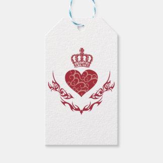 Etiqueta Para Presente Rei do coração
