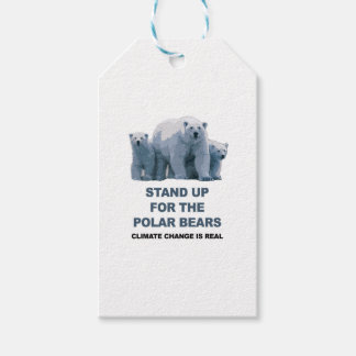 Etiqueta Para Presente Represente acima os ursos polares