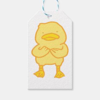 Etiqueta Para Presente Resíduo metálico Ducky