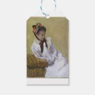 Etiqueta Para Presente Retrato do artista - Mary Cassatt
