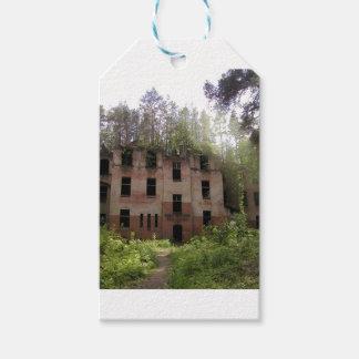 Etiqueta Para Presente Ruína do hospital de Beelitz, Alpenhaus