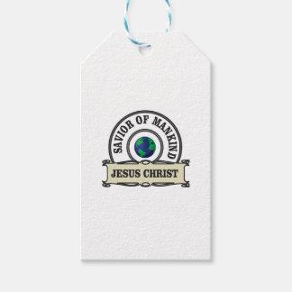 Etiqueta Para Presente salvador do cristo de toda a humanidade