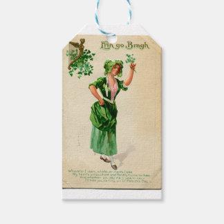 Etiqueta Para Presente Senhora original do dia de patrick de santo no