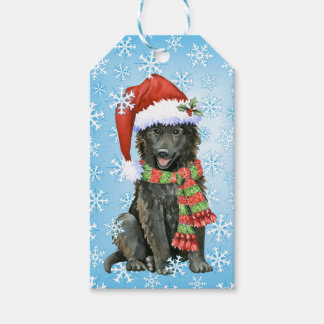 Etiqueta Para Presente Sheepdog feliz do belga de Howlidays