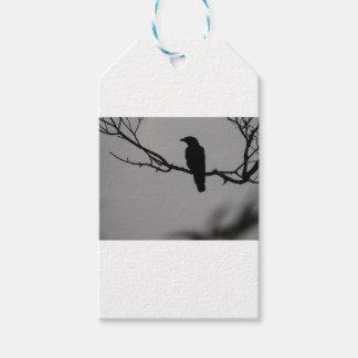 Etiqueta Para Presente Silhueta do pássaro