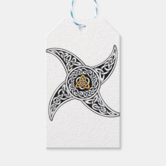 Etiqueta Para Presente símbolo dos céltico-guerreiros