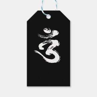 Etiqueta Para Presente Símbolo espiritual de OM - produtos da ioga