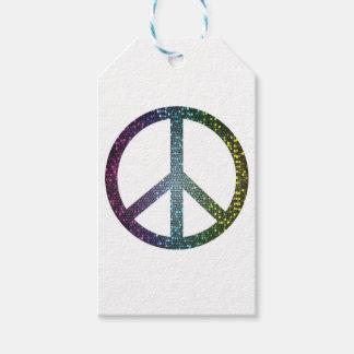 Etiqueta Para Presente sinal de paz