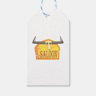 Etiqueta Para Presente Sinal do bar com o desenho da cabeça inoperante