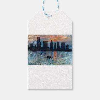 Etiqueta Para Presente Skyline 7 de Miami