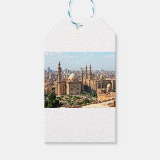 Etiqueta Para Presente Skyline de Cario Egipto
