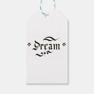 Etiqueta Para Presente Sonho