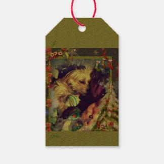 Etiqueta Para Presente Sonhos de Tag do presente de Toyland do Natal
