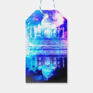 Etiqueta Para Presente Sonhos de Taj Mahal do céu da criação