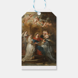 Etiqueta Para Presente St. Idelfonso - Peter Paul Rubens do Triptych