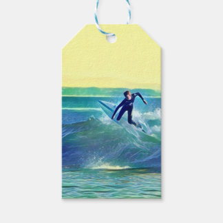 Etiqueta Para Presente Surfista