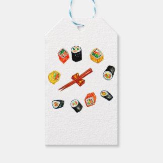 Etiqueta Para Presente Sushi Watercolor2 ajustado
