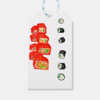 Etiqueta Para Presente Sushi Watercolor3 ajustado