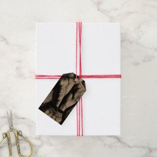 Etiqueta Para Presente Tag apertados bonitos dos presentes da arte de