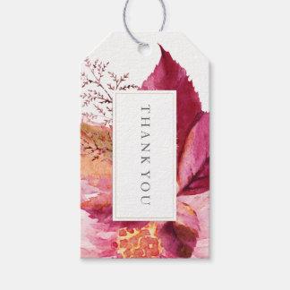 Etiqueta Para Presente Tag bonito do cair do presente do favor do