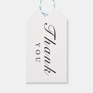 Etiqueta Para Presente Tag branco do casamento da listra do ouro preto