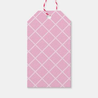 Etiqueta Para Presente Tag cor-de-rosa retros do presente do biscoito da