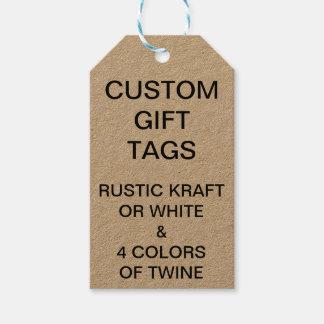 Etiqueta Para Presente Tag customizáveis feitos sob encomenda do presente