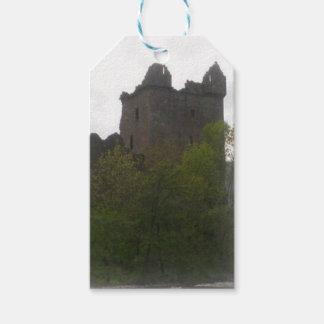 Etiqueta Para Presente Tag da bagagem do castelo