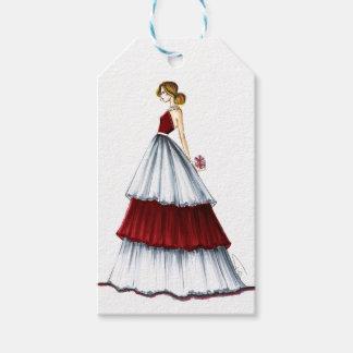 Etiqueta Para Presente Tag da ilustração da forma do Natal da surpresa