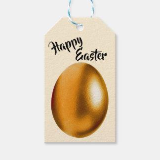 Etiqueta Para Presente Tag de bronze do presente do ovo da páscoa