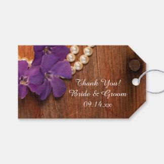 Etiqueta Para Presente Tag de madeira do favor do casamento do celeiro