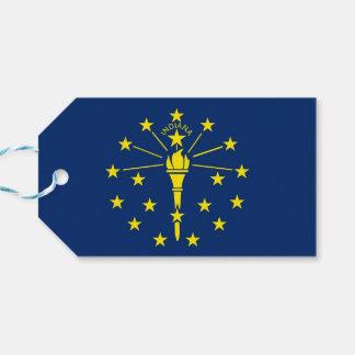 Etiqueta Para Presente Tag do presente com a bandeira do estado de