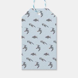 Etiqueta Para Presente Tag do presente da agitação da gaivota