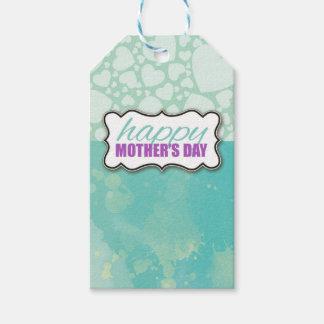 Etiqueta Para Presente Tag do presente da aguarela do dia das mães