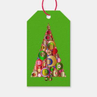 Etiqueta Para Presente Tag do presente da árvore