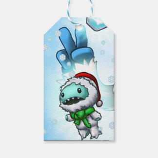 Etiqueta Para Presente Tag do presente da boneca do Yeti