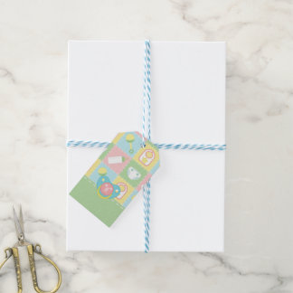 Etiqueta Para Presente Tag do presente da edredão do bebê