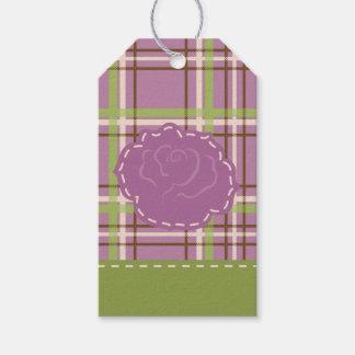 Etiqueta Para Presente Tag do presente de casamento do jardim do país