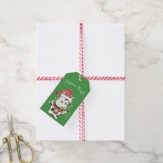Etiqueta Para Presente Tag do presente de Joyeux Noël Snowbell