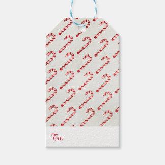Etiqueta Para Presente Tag do presente do bastão de doces