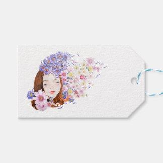 Etiqueta Para Presente Tag do presente do florista